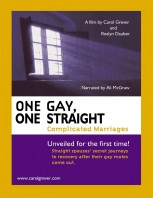 DVD Cover image for Carol Grever's Film One Gay One Straight